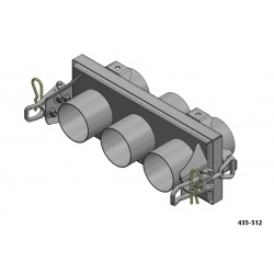 """Coupling Assembly 3 x 3""""..."""