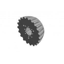 DX Trash Whipper Treader Wheel
