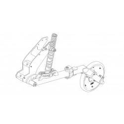 SJ45 Press Wheel Pivot Kit
