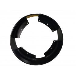 90mm x 355mm OD Steel Wheel