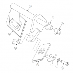 TX65C Coulter Scraper Assembly