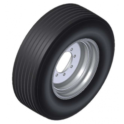 Tyre and Rim Assy 385/65 x...